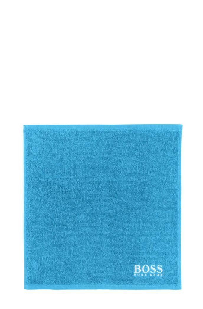 Waschlappen aus feinster ägyptischer Baumwolle mit Logo-Stickerei
