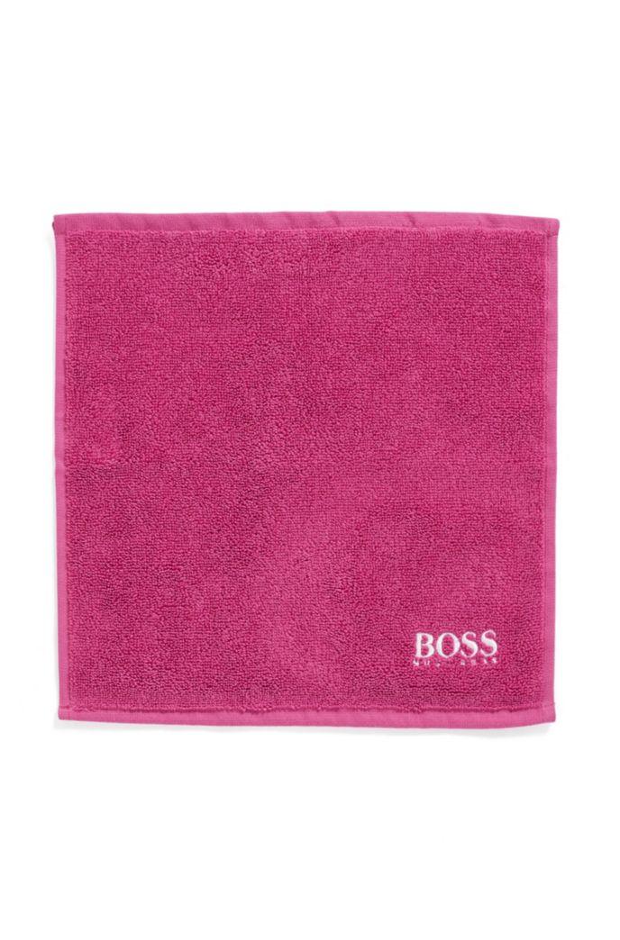 Asciugamano da viso in raffinato cotone egiziano con logo ricamato