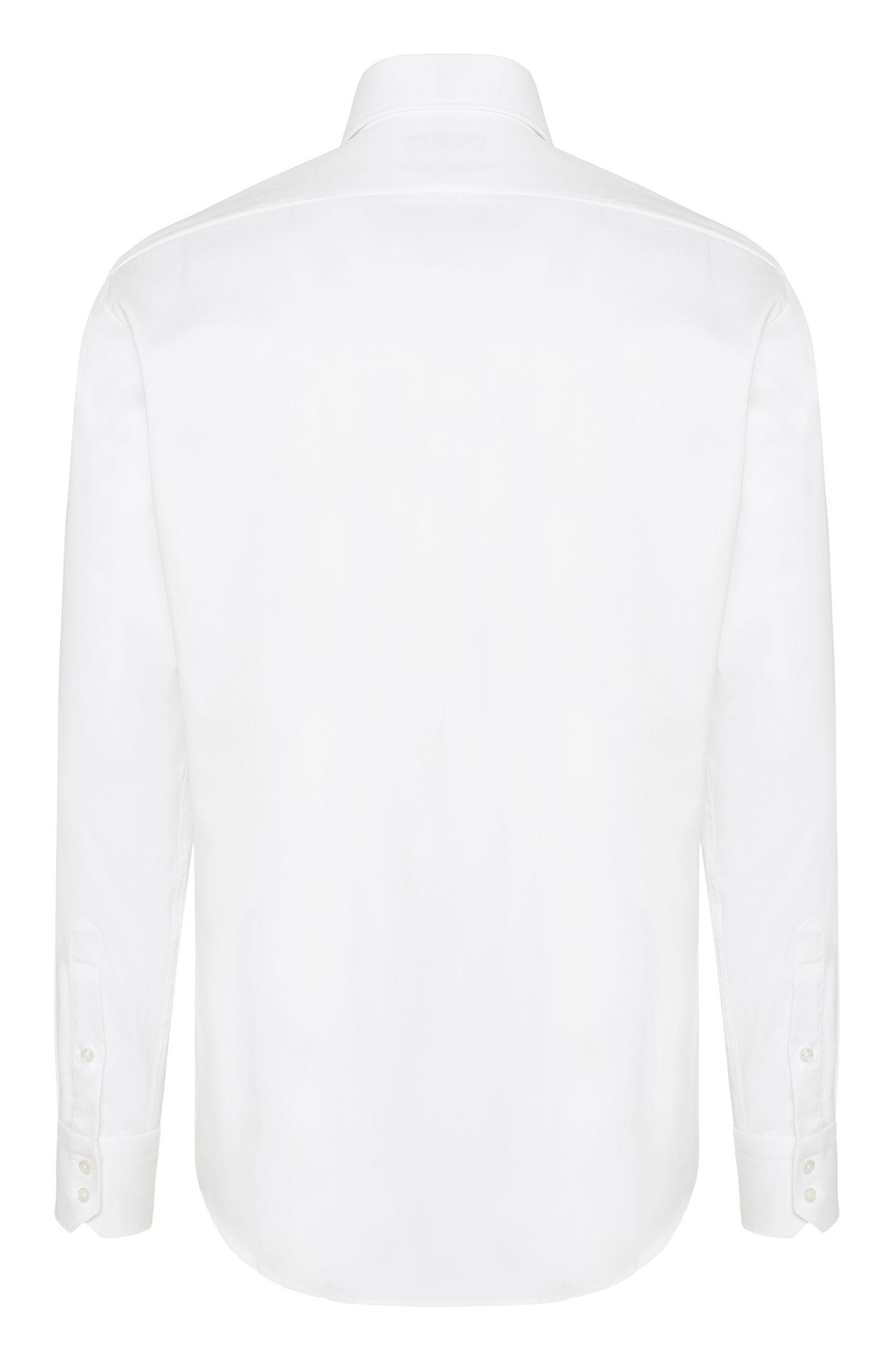 Cotton Dress Shirt, Regular Fit | Gerald, White
