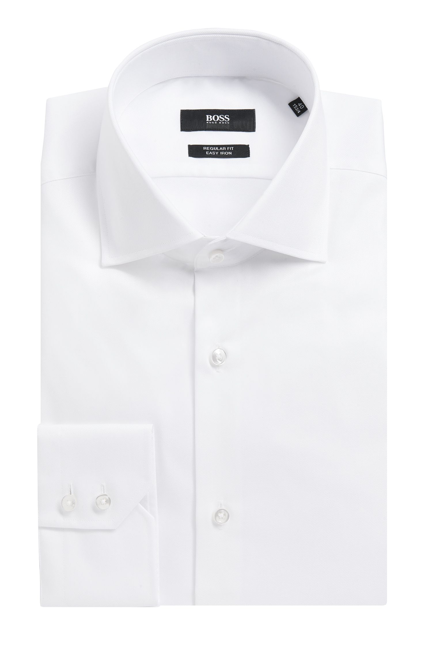 Cotton Dress Shirt, Regular Fit | Gerald