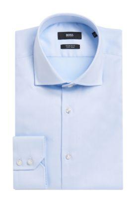 Cotton Dress Shirt, Regular Fit | Gerald, Light Blue