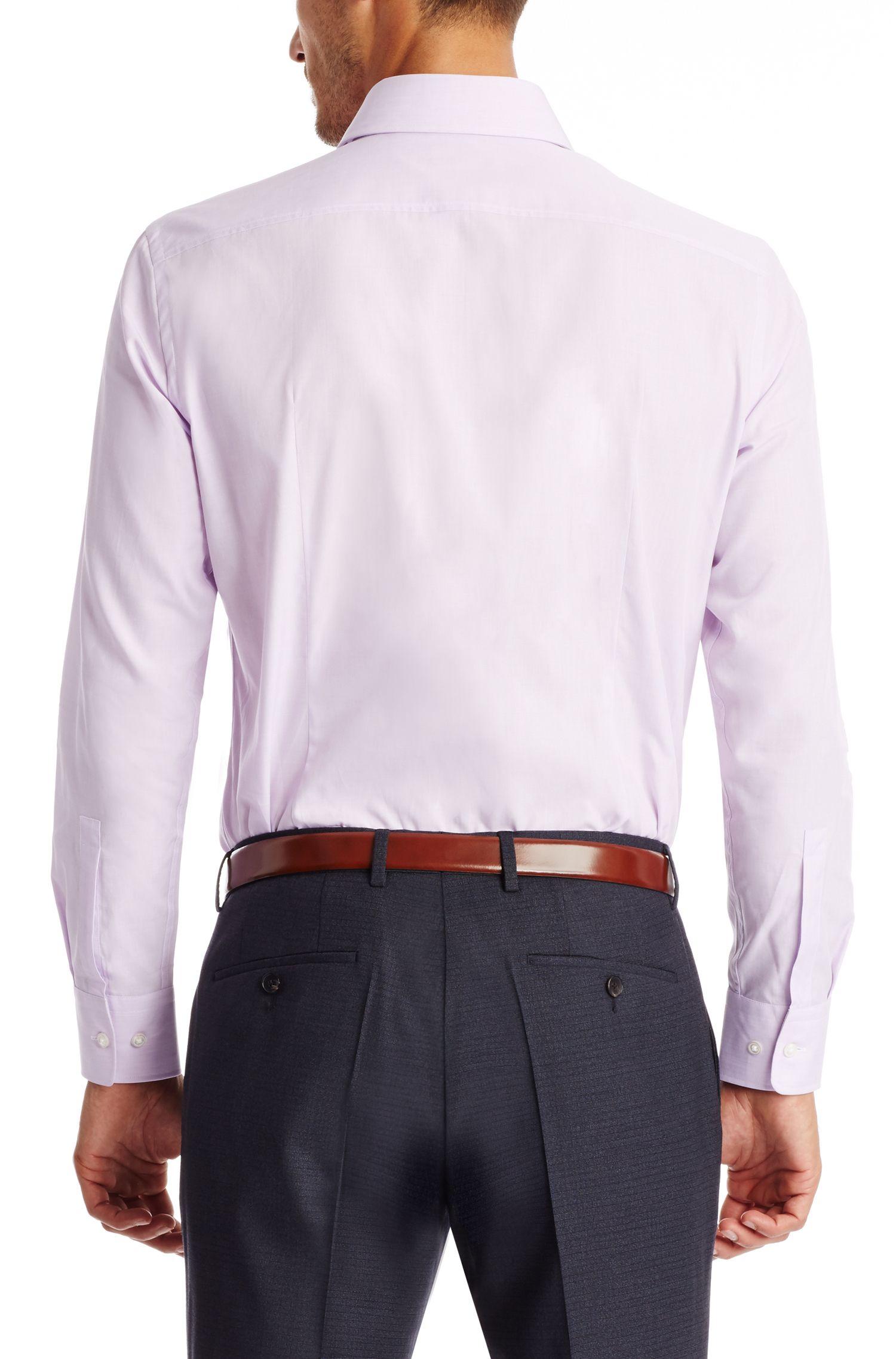 Cotton Dress Shirt, Sharp Fit | Miles US