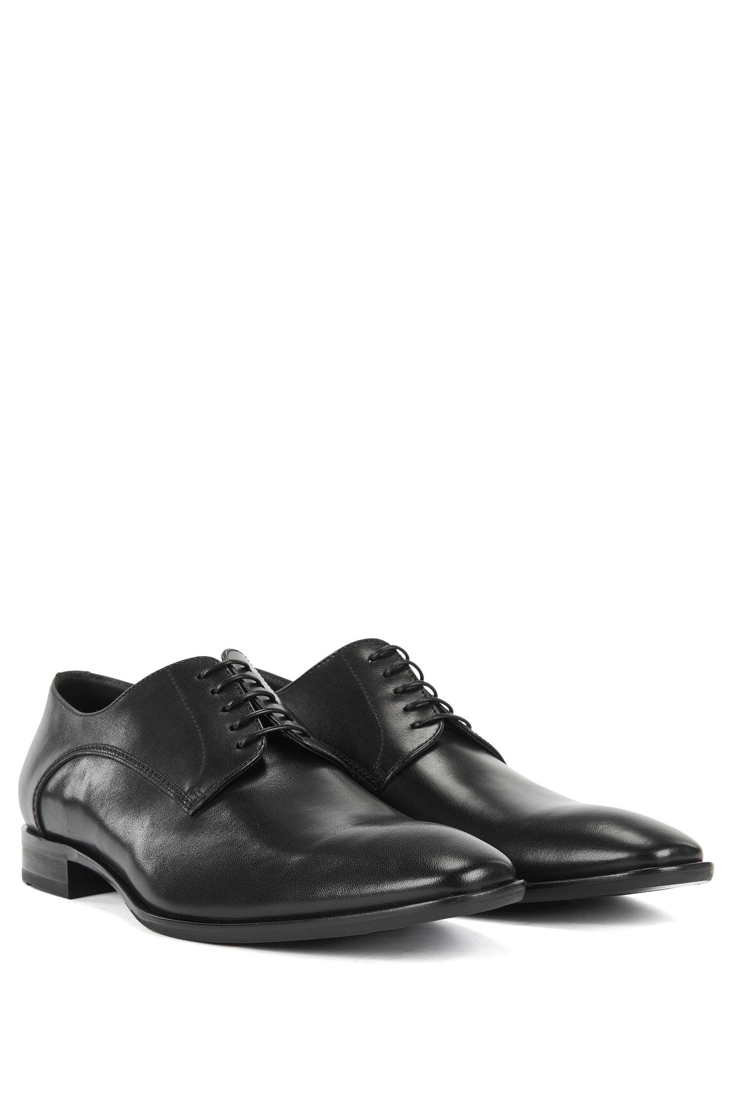Leather Derby Dress Shoe | Carmons, Black