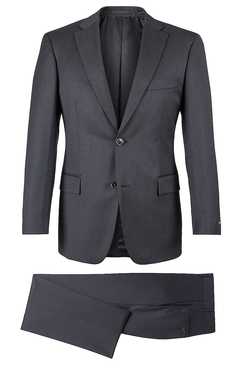 Boss Super 110 Virgin Wool Suit Comfort Fit Pasolini