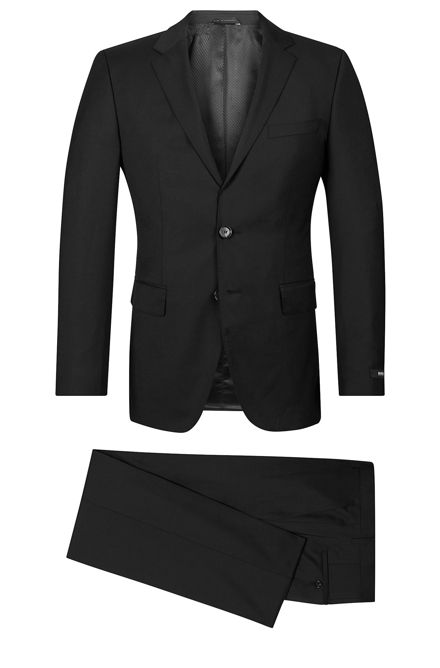 Italian Super 120 Wool Suit, Regular Fit | The James/Sharp