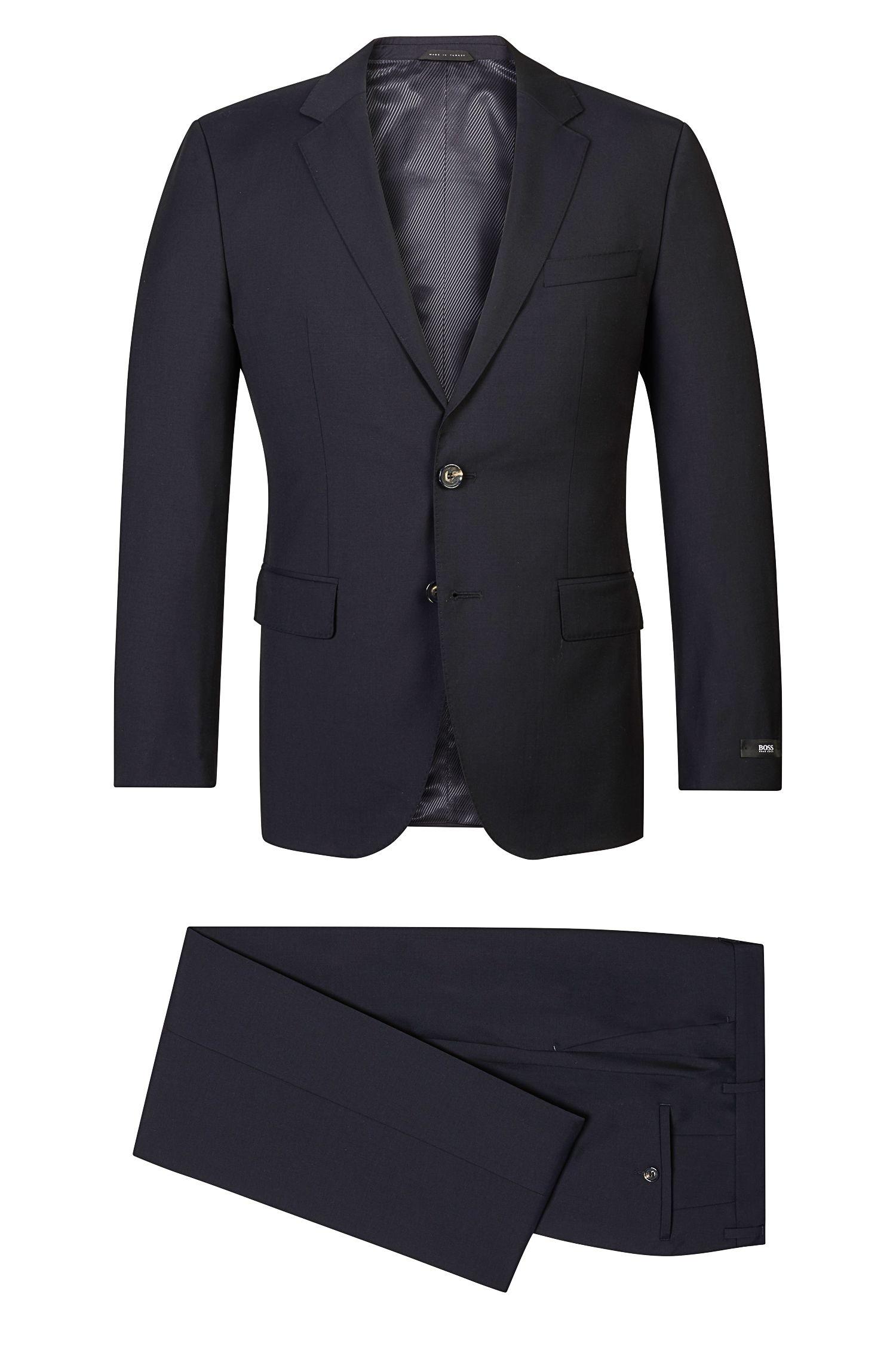 Super 120 Italian Virgin Wool Suit, Regular Fit   The James/Sharp