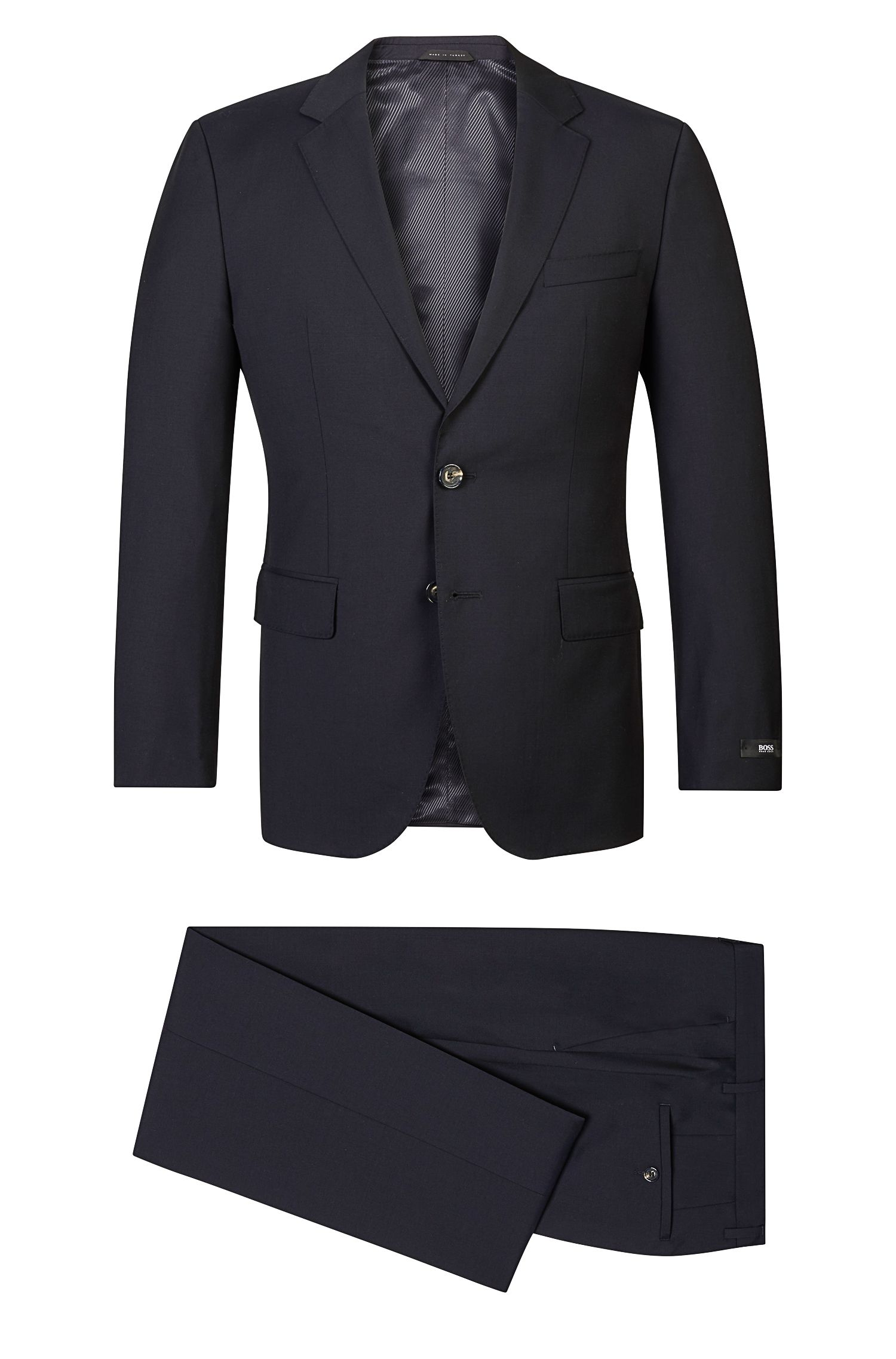 Italian Wool Suit, Regular Fit | The James/Sharp