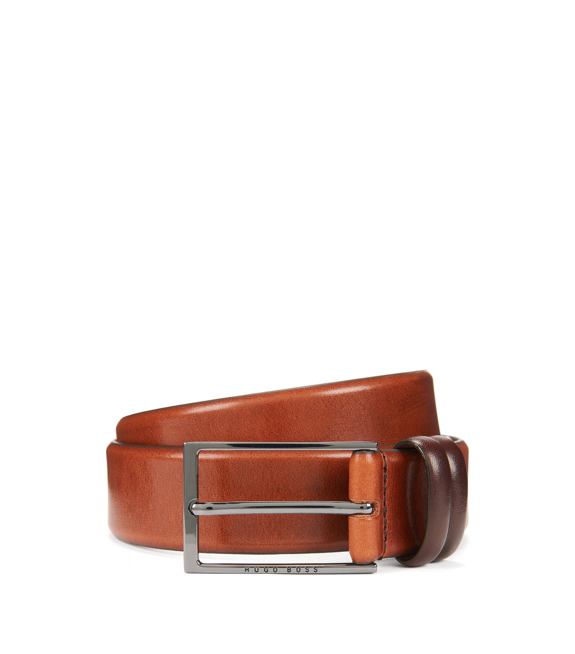 Leather Belt | Carmello, Brown