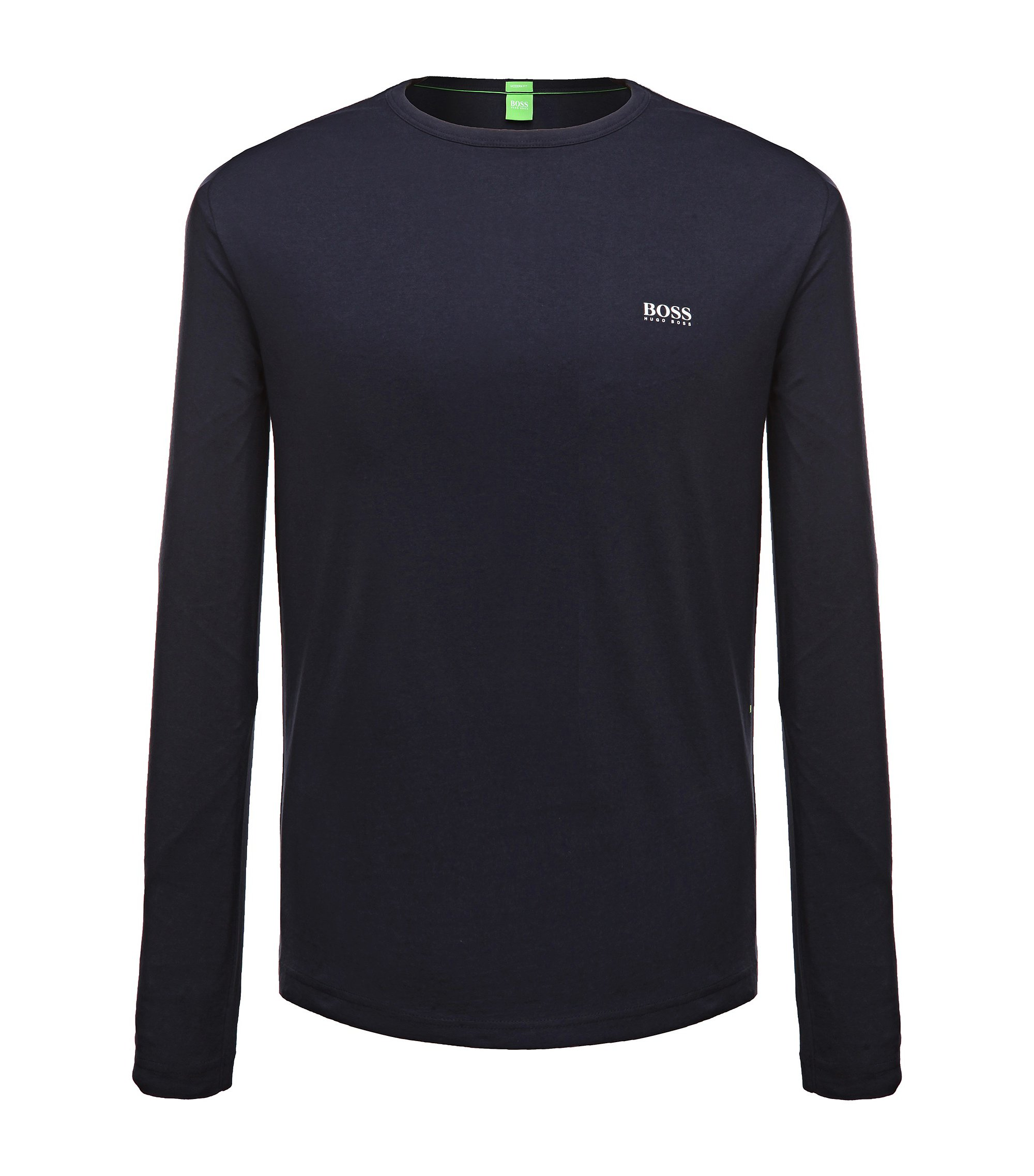 Cotton Long Sleeve T-Shirt | Togn, Dark Blue