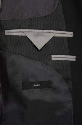 e814cca76 BOSS - Stretch Virgin Wool Suit, Slim Fit   Huge/Genius