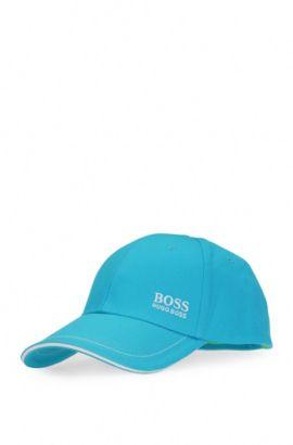 Cotton Twill Hat | Cap, Open Blue