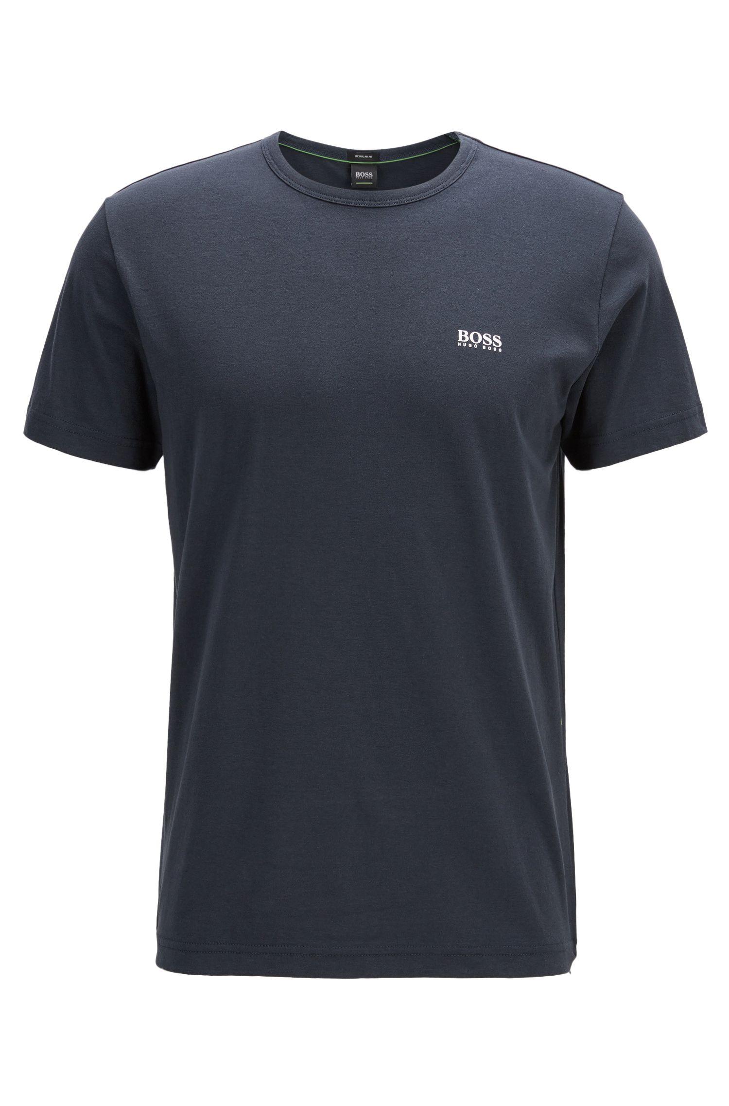 'Tee' | Cotton Jersey Logo T-Shirt