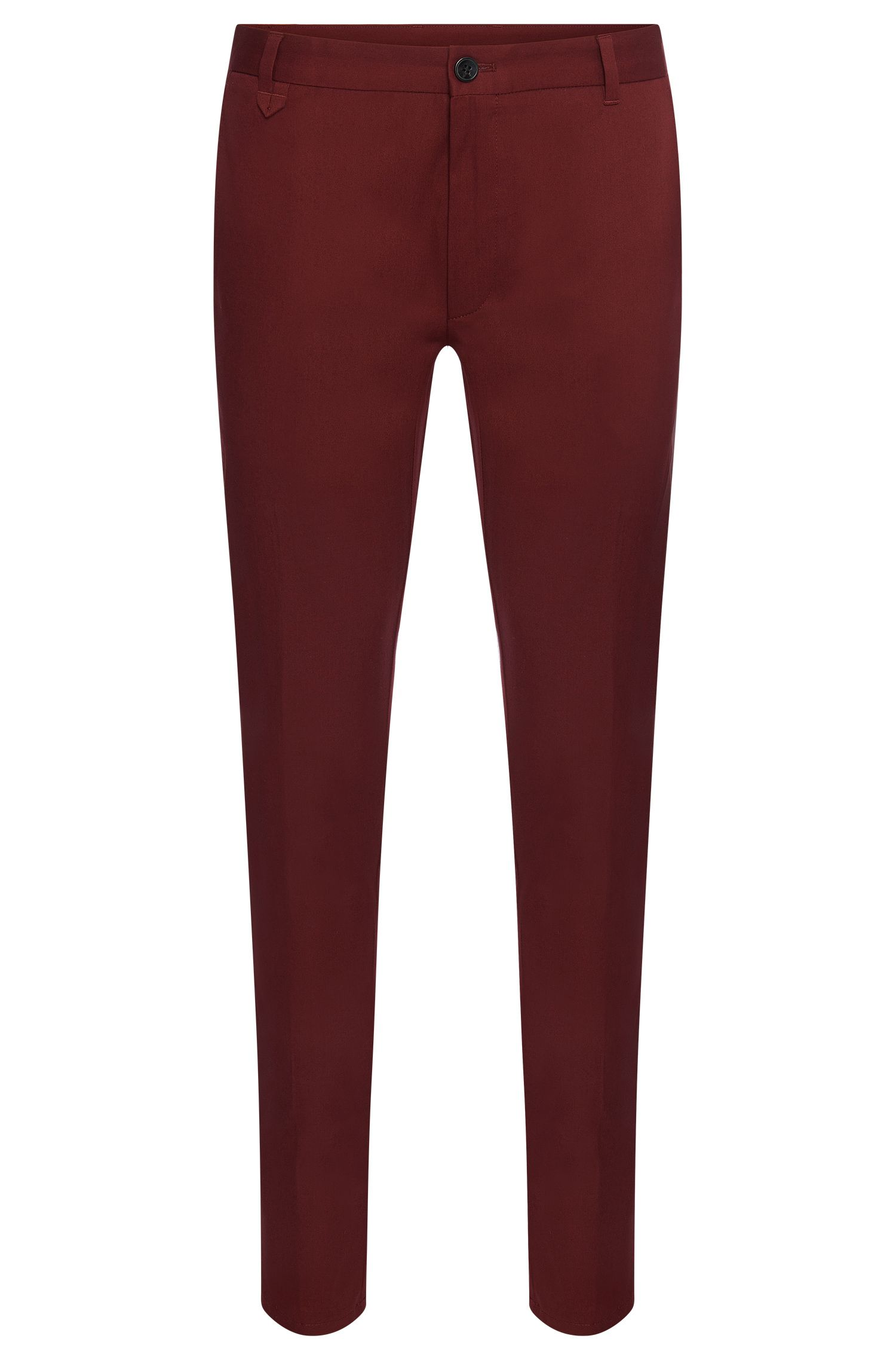 'Heldor' | Extra Slim Fit, Stretch Cotton Pants