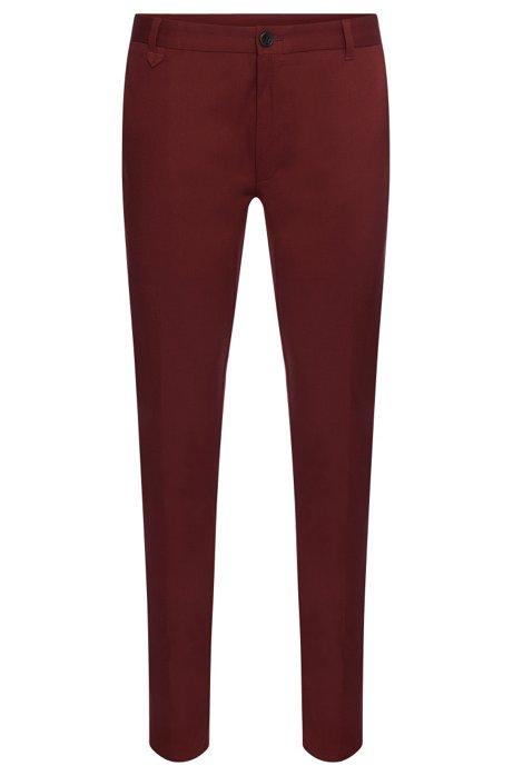 e582fe860f HUGO - 'Heldor' | Extra Slim Fit, Stretch Cotton Pants