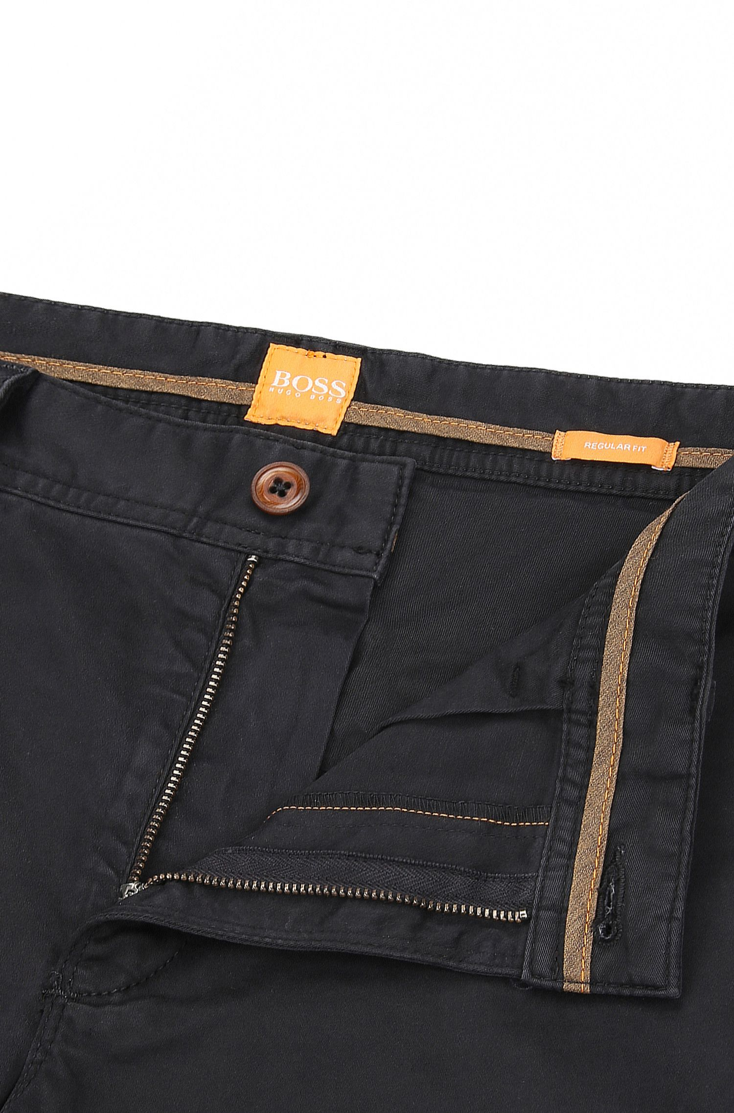 Stretch Cotton Chinos, Regular Fit | Schino Regular D