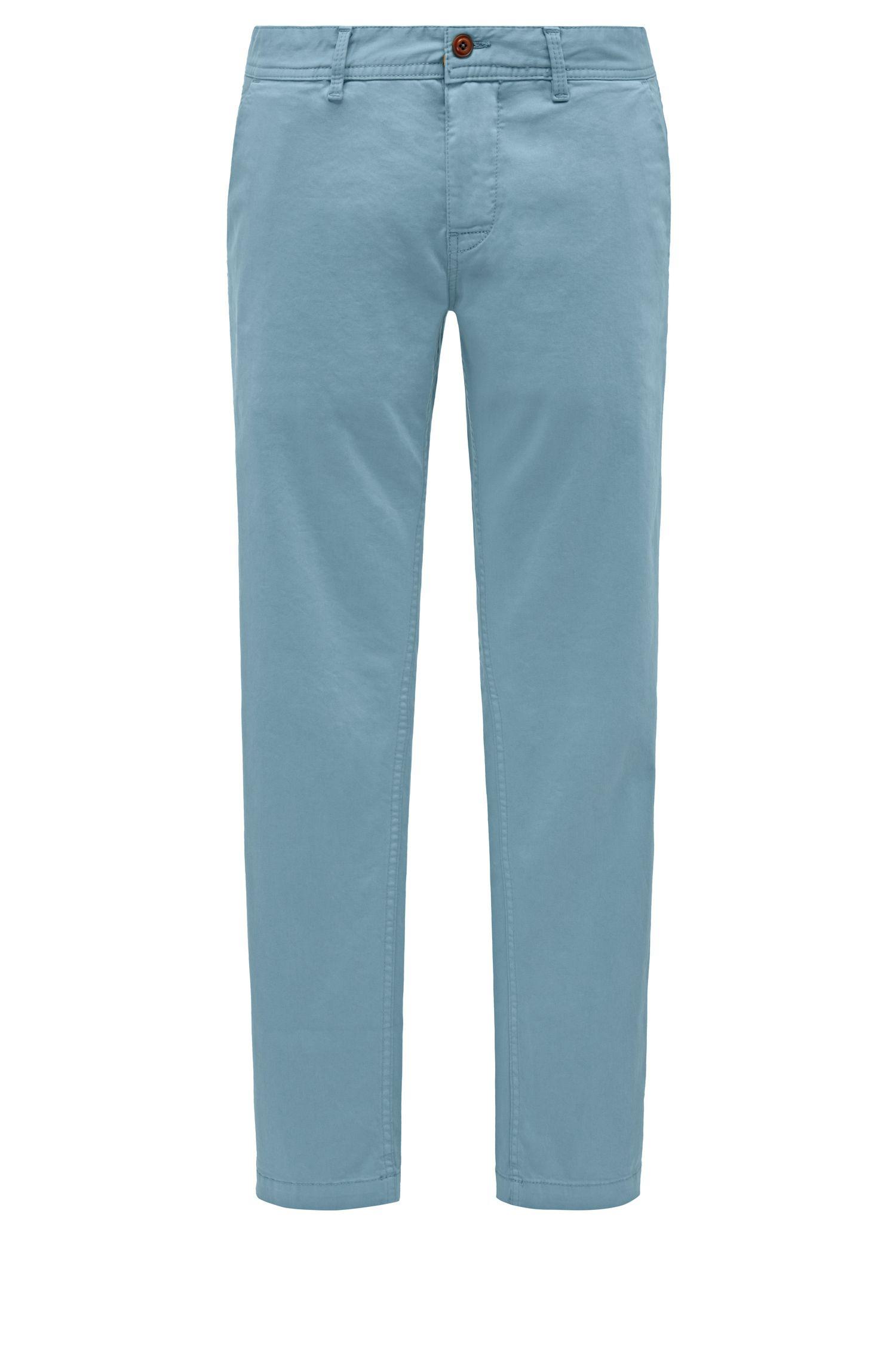 Stretch Cotton Chino Pants, Slim Fit | Schino Slim D