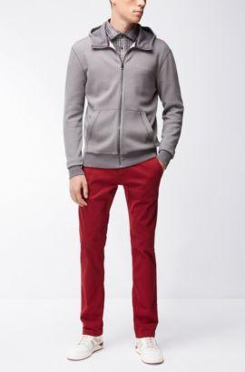 'Schino Slim D' | Slim Fit, Stretch Cotton Chino Pants, Red