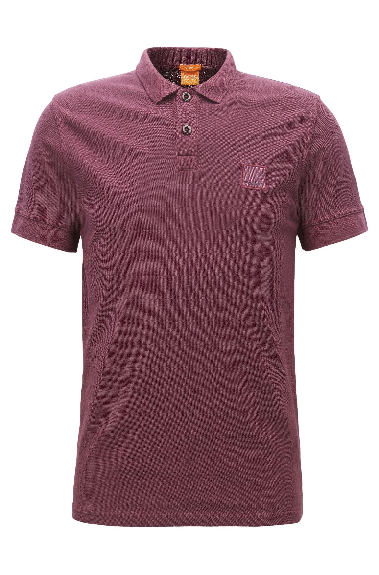 Cotton Polo Shirt, Slim Fit | Pascha