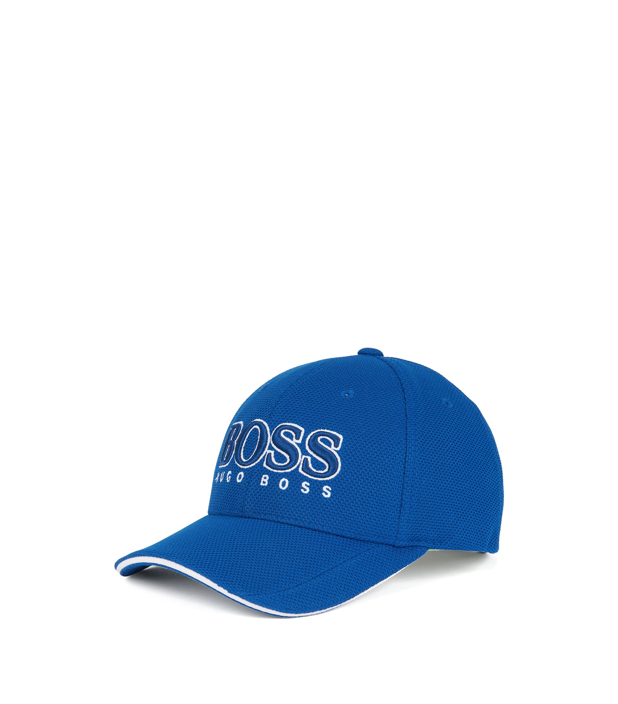 3-D Logo Performance Hat | Cap US, Blue