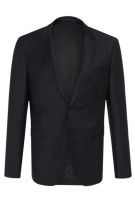 Virgin Wool Sport Coat, Slim Fit | Aerin S , Dark Blue