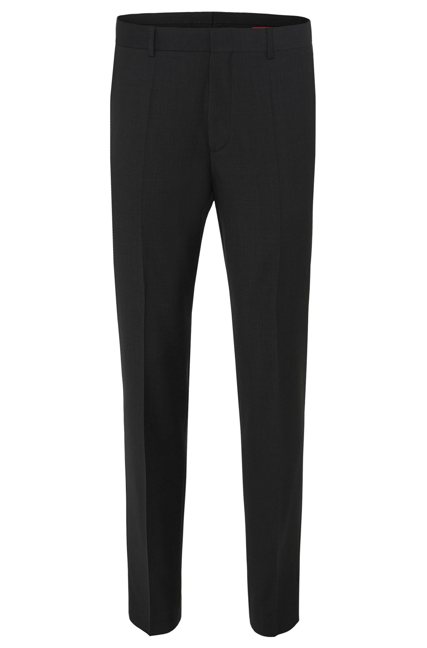'HamenS' | Slim Fit, Virgin Wool Dress Pants