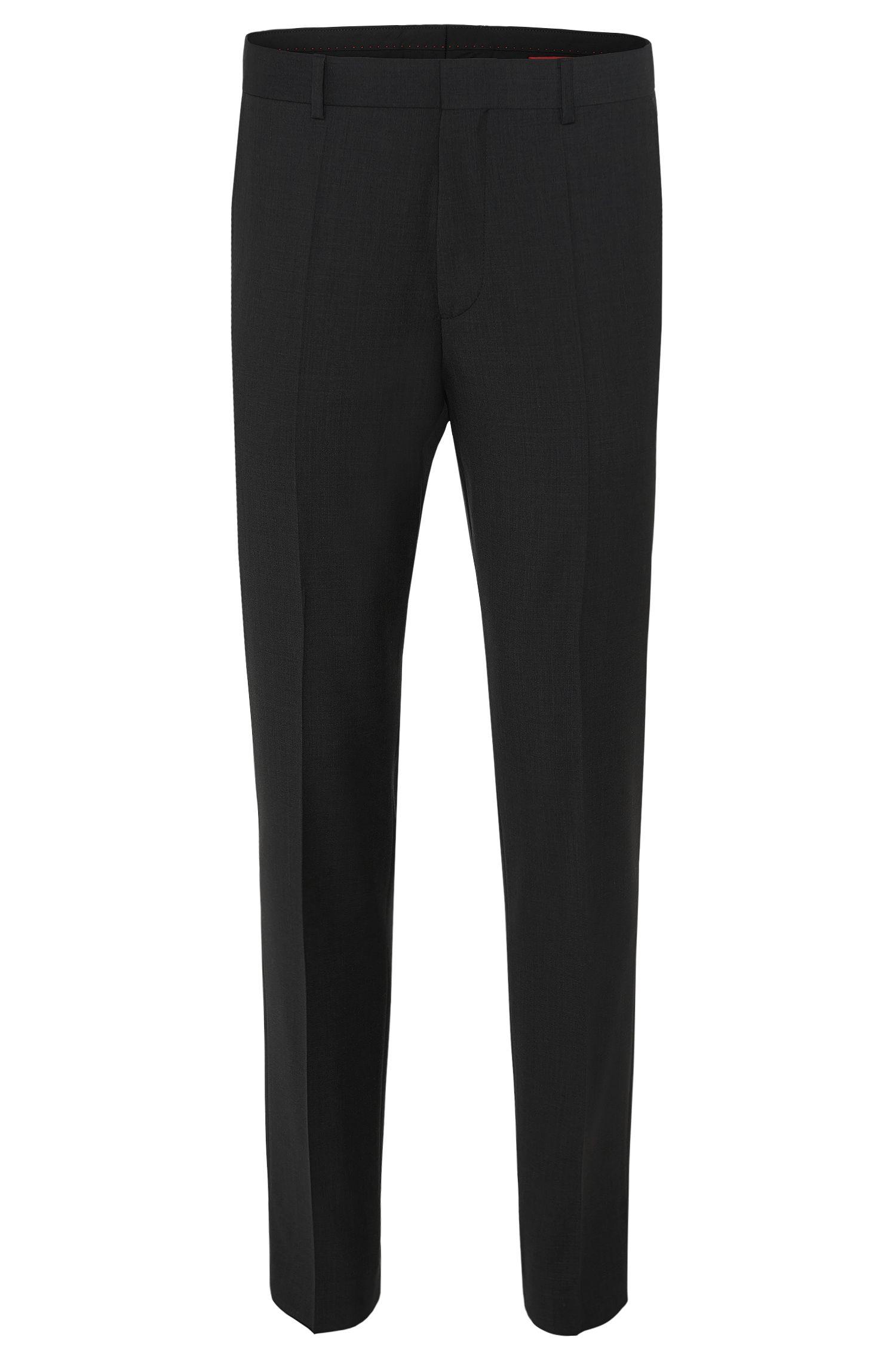 Virgin Wool Dress Pant, Slim Fit | HamenS