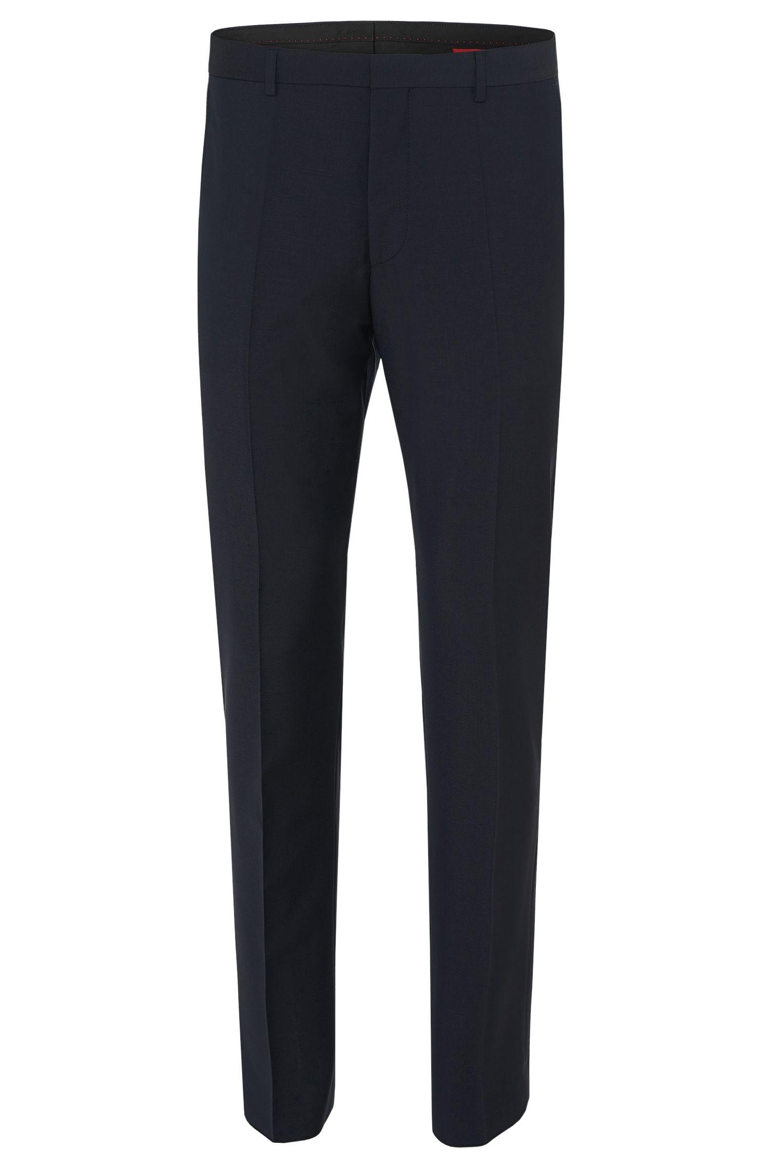 'HamenS' | Slim Fit, Virgin Wool Dress Pants