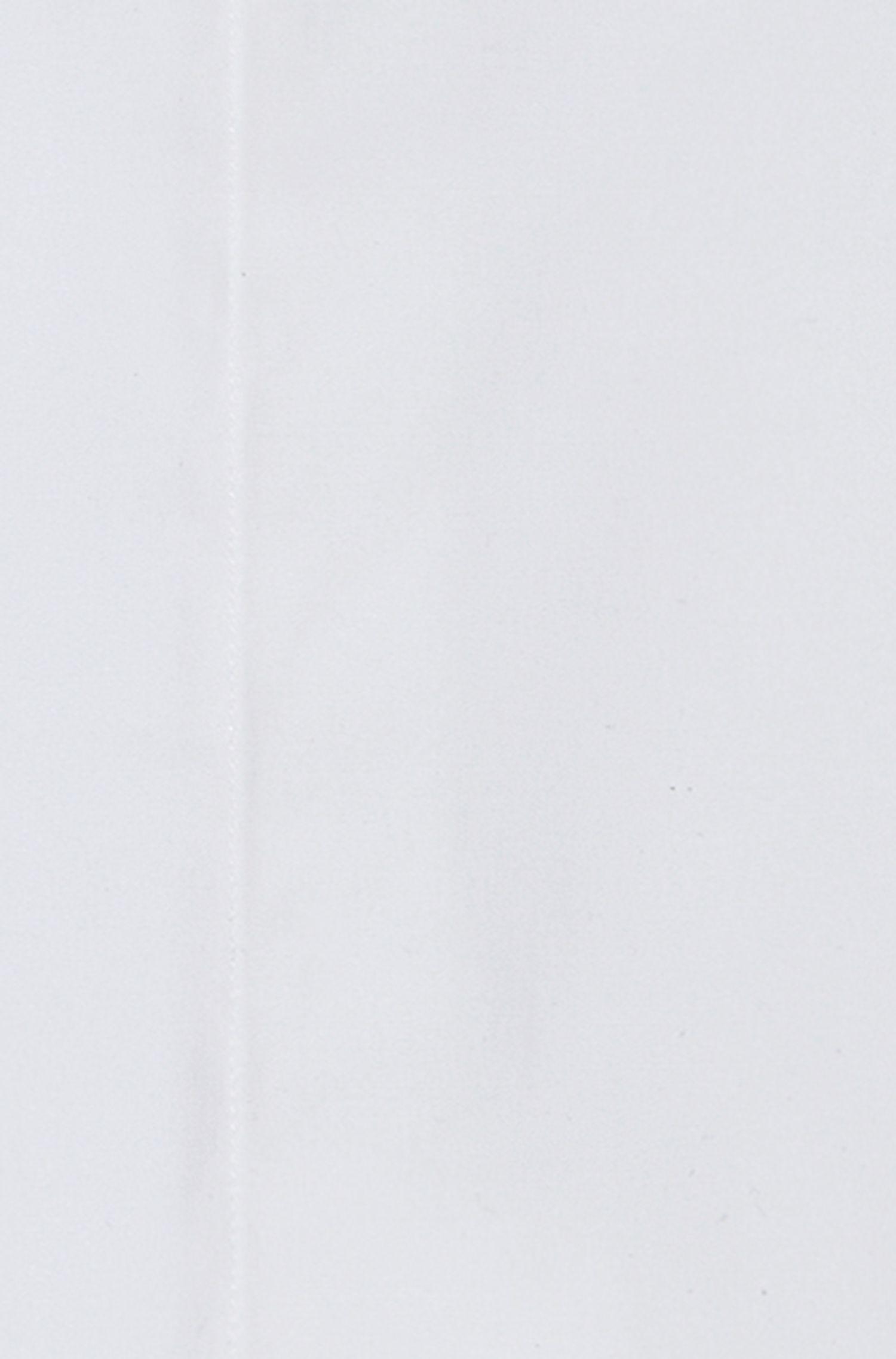 Point Collar Stretch Cotton French Cuff Dress Shirt, Slim Fit | EveningX