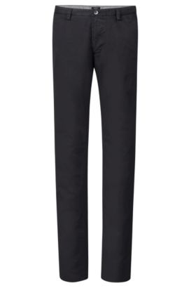 Stretch Cotton Colored Chino Pant, Slim Fit | Rice, Black