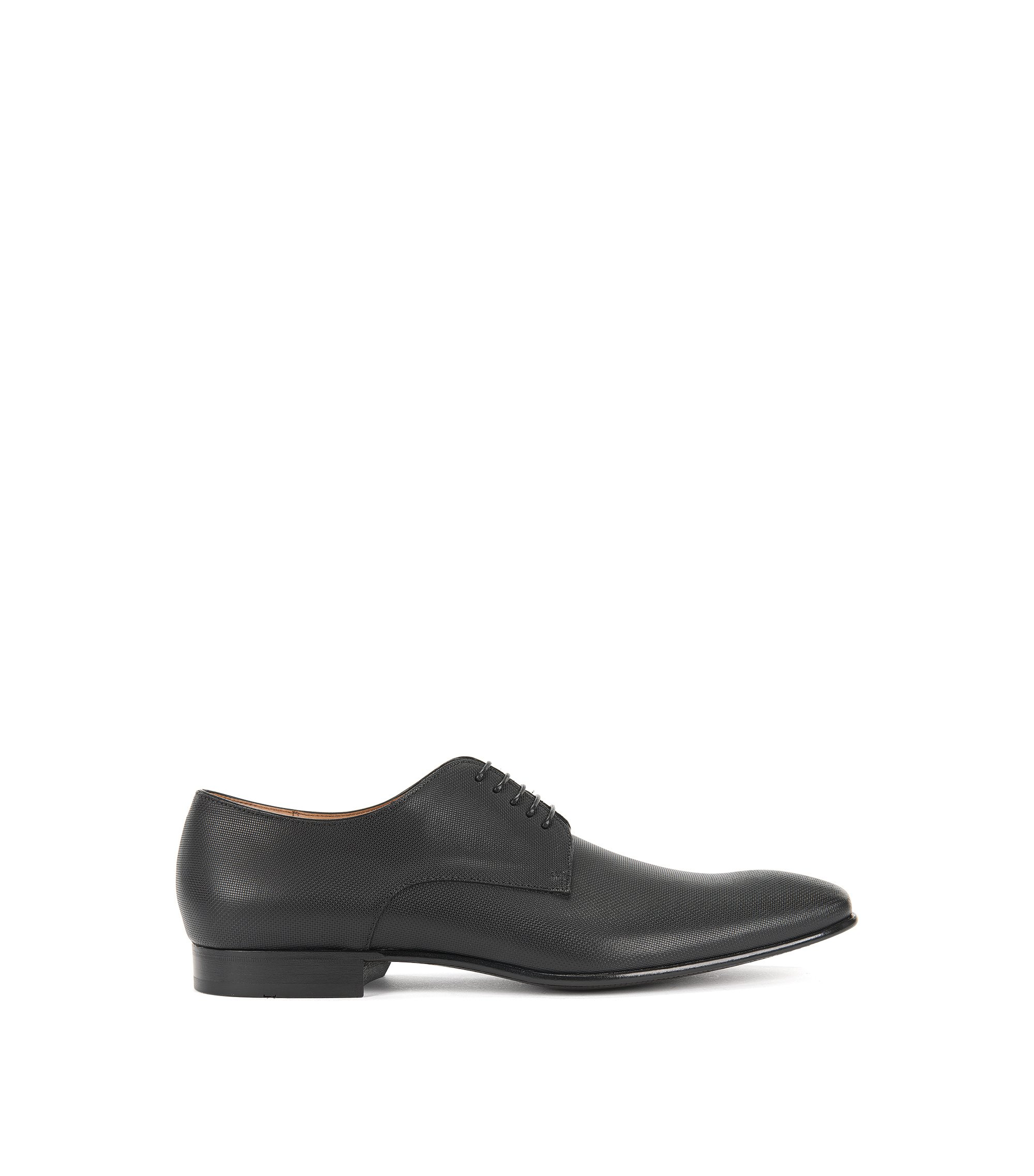 Italian Leather Derby Dress Shoe | Prindo, Black
