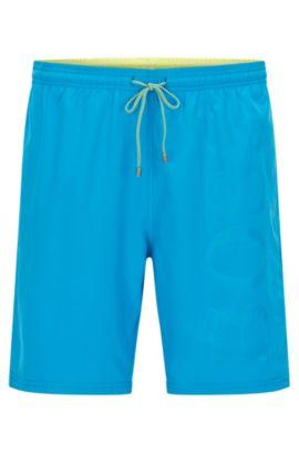 Logo Swim Trunk | Orca, Turquoise