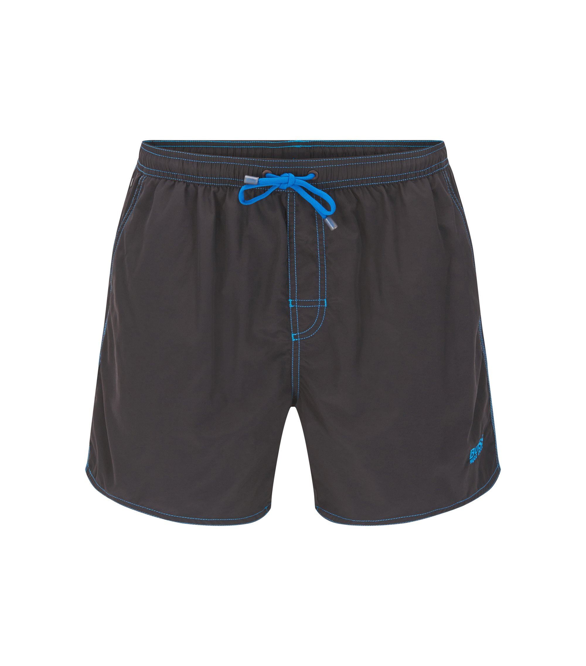 Quick Dry Swim Trunk | Lobster, Charcoal