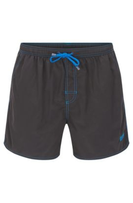 'Lobster' | Quick Dry Swim Trunks, Charcoal