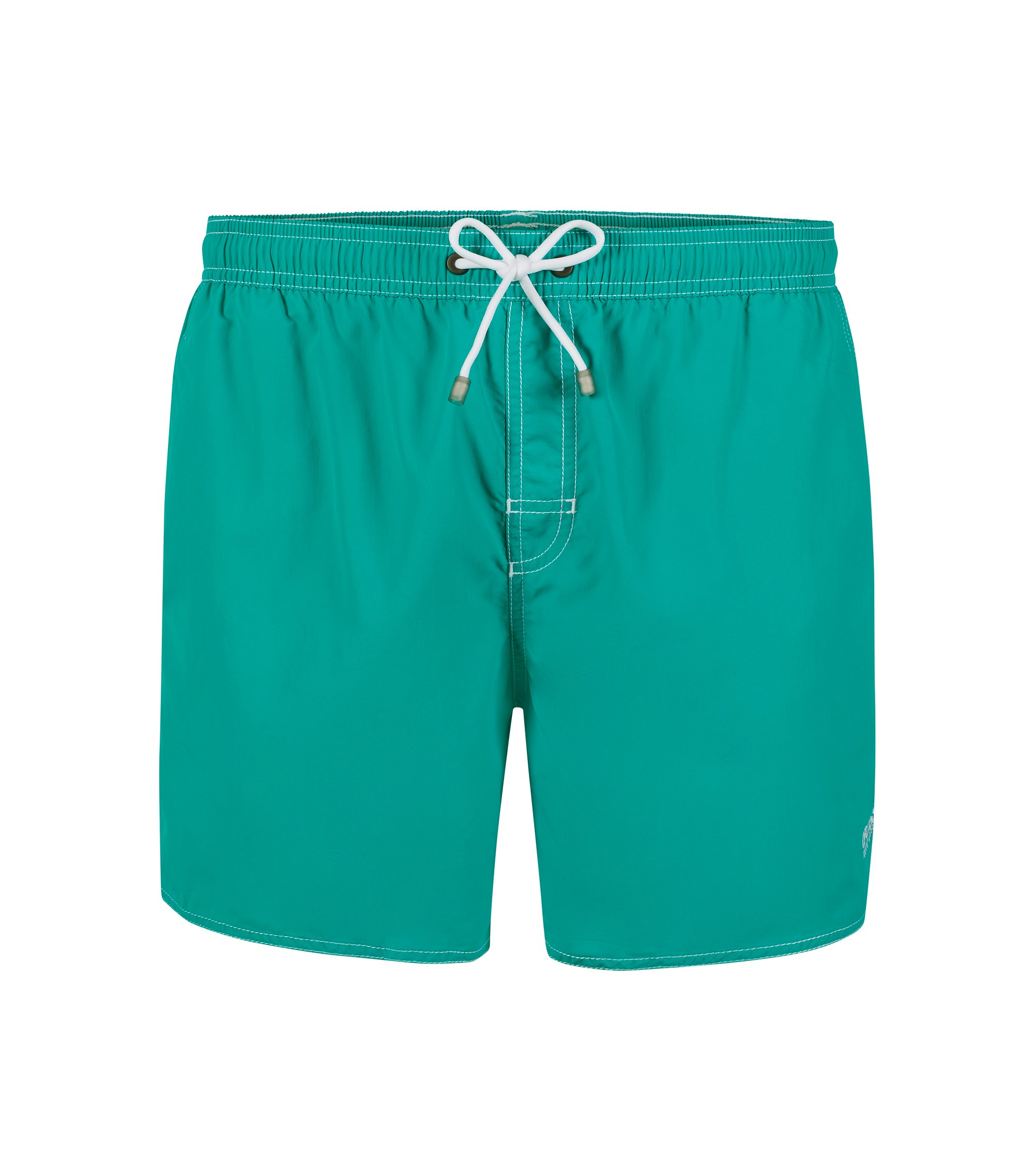 Quick Dry Swim Trunk   Lobster, Turquoise