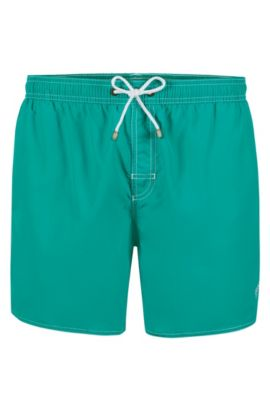 Quick Dry Swim Trunk | Lobster, Turquoise