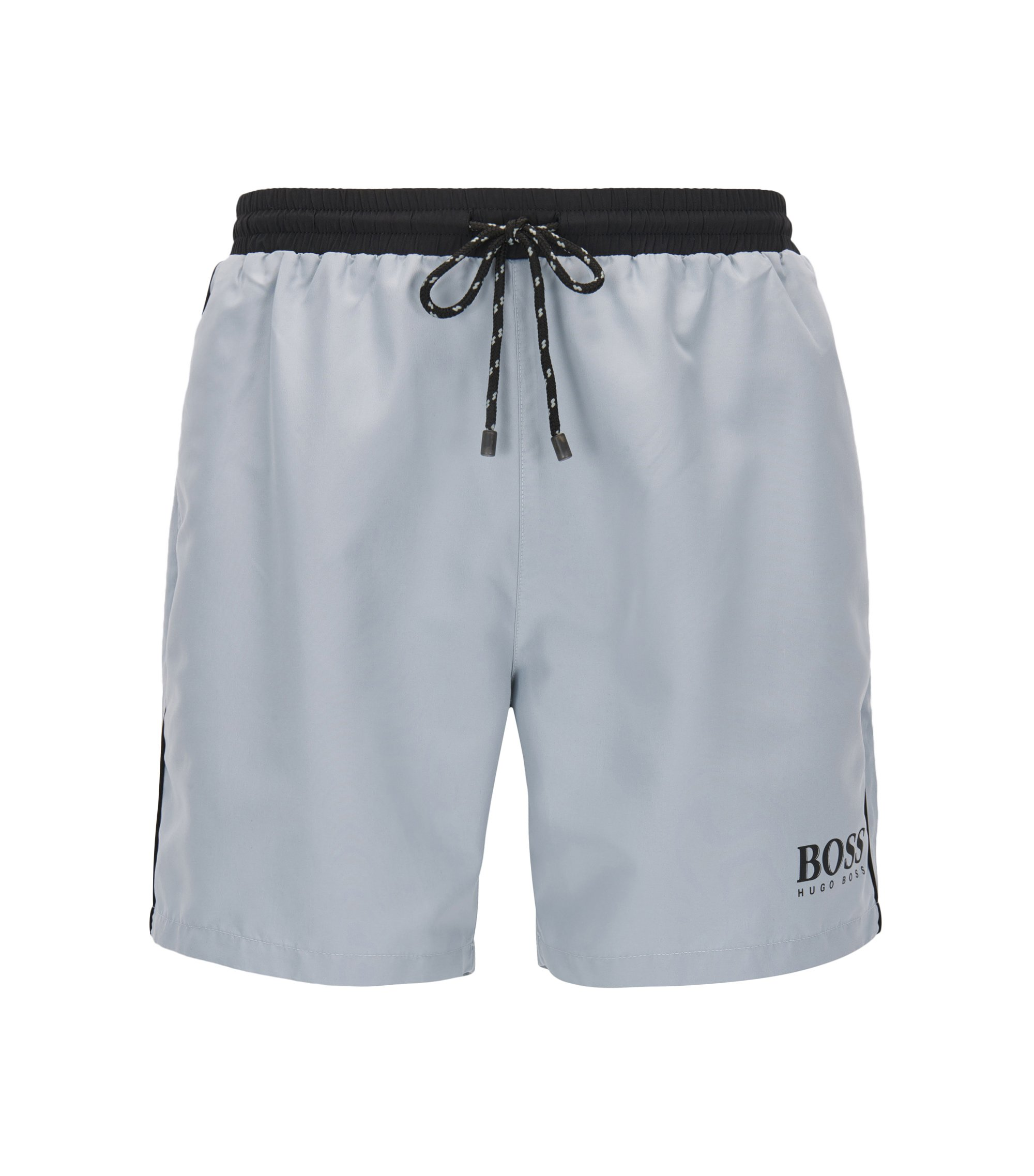 Quick Dry Swim Trunk | Starfish, Silver