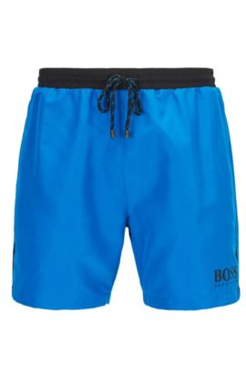 Quick Dry Swim Trunk | Starfish, Blue