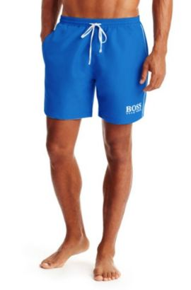 'Starfish' | Quick Dry Swim Trunks, Blue
