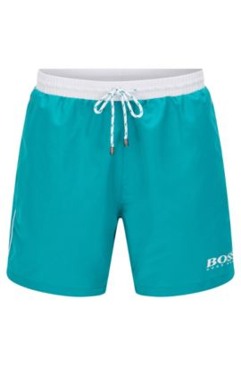 'Starfish' | Quick Dry Swim Trunks, Turquoise