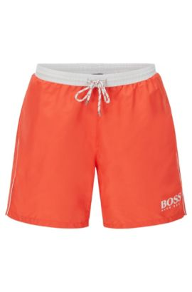 'Starfish' | Quick Dry Swim Trunks, Orange