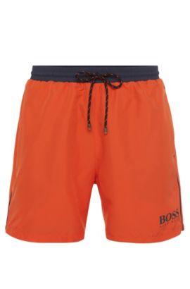 Quick Dry Swim Trunk | Starfish, Open Orange