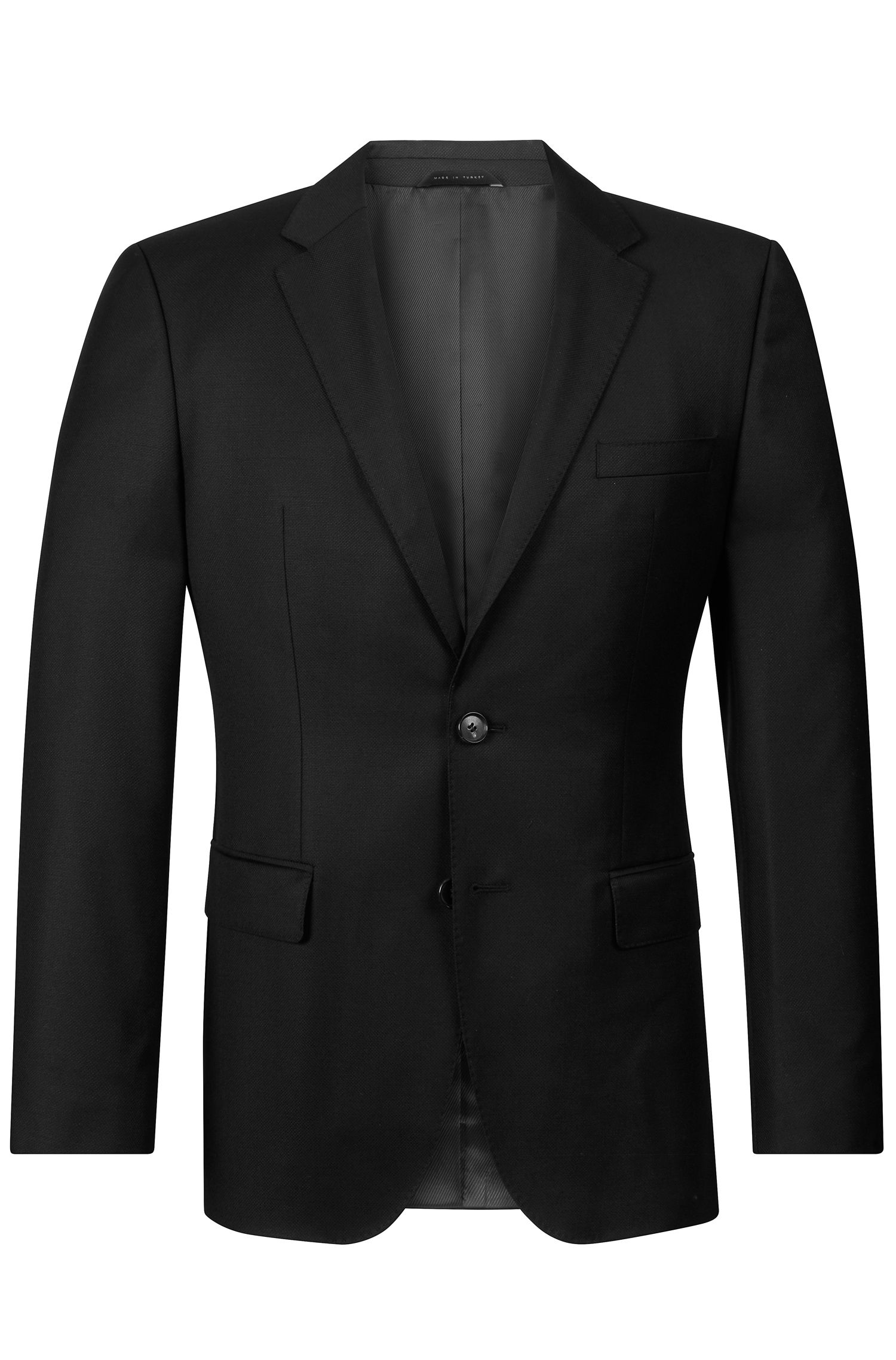 Virgin Wool Sport Coat, Regular Fit | The James