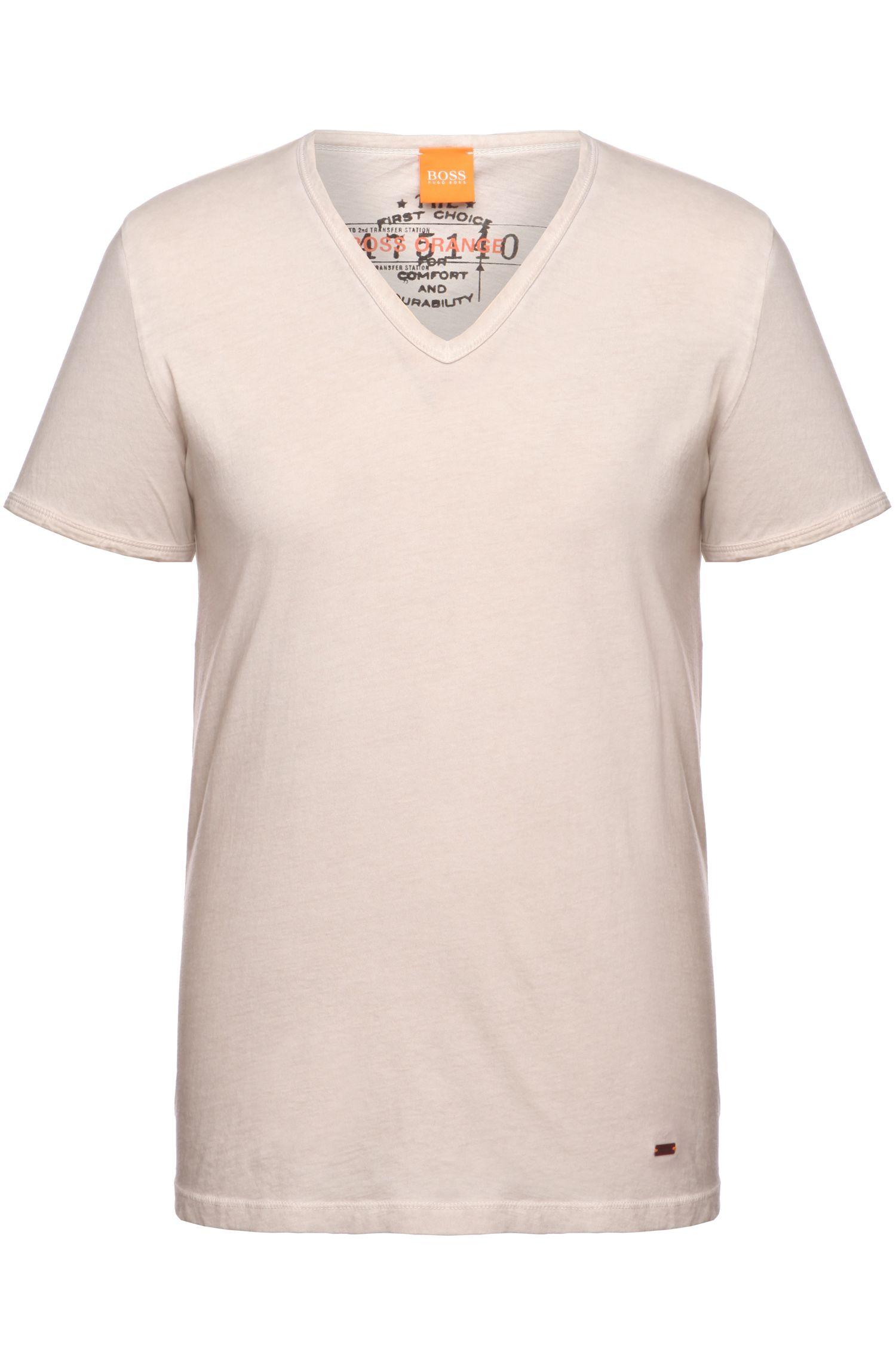 Cotton V-Neck T-Shirt   Toulouse