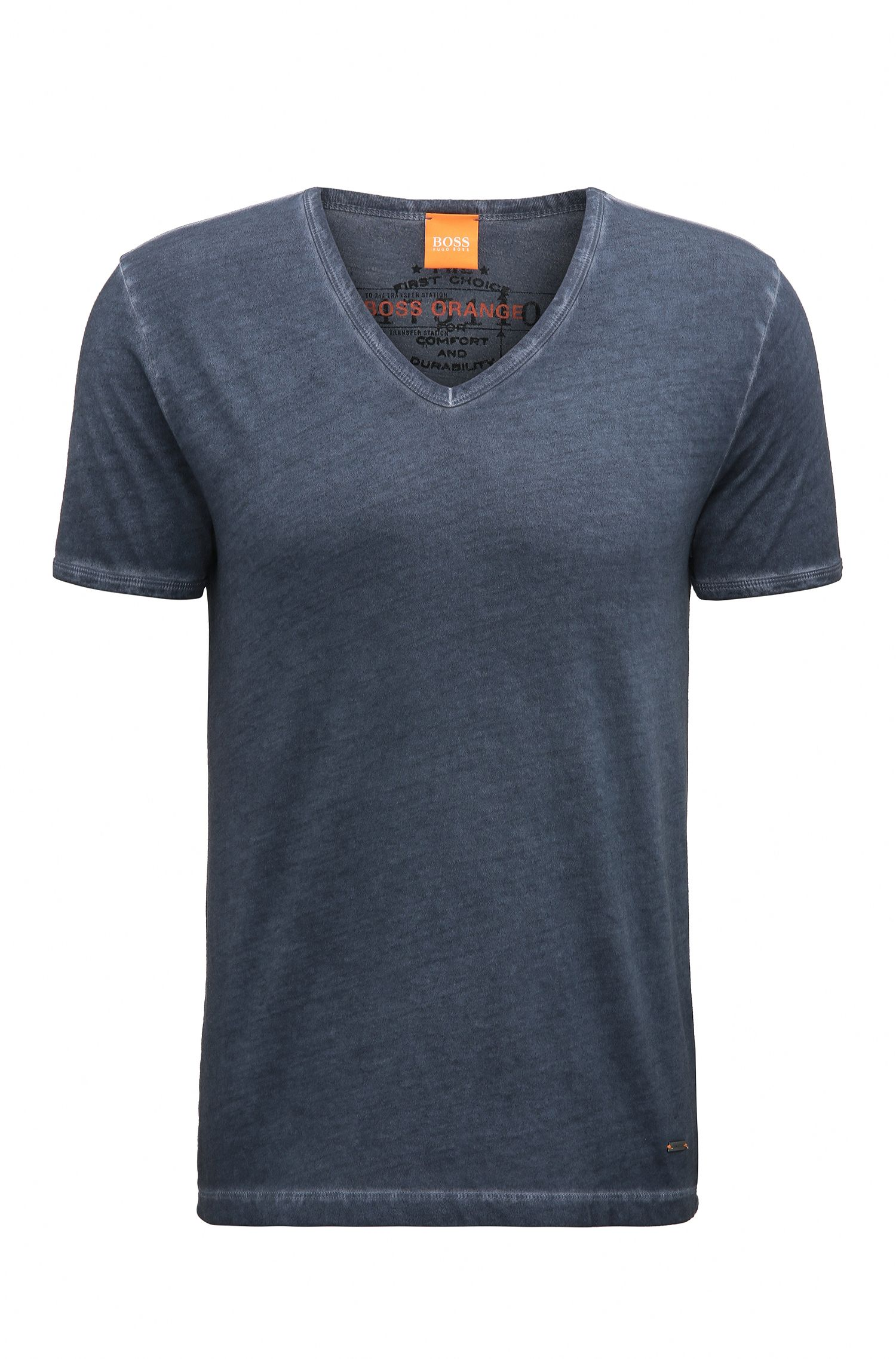 Cotton V-Neck T-Shirt | Toulouse
