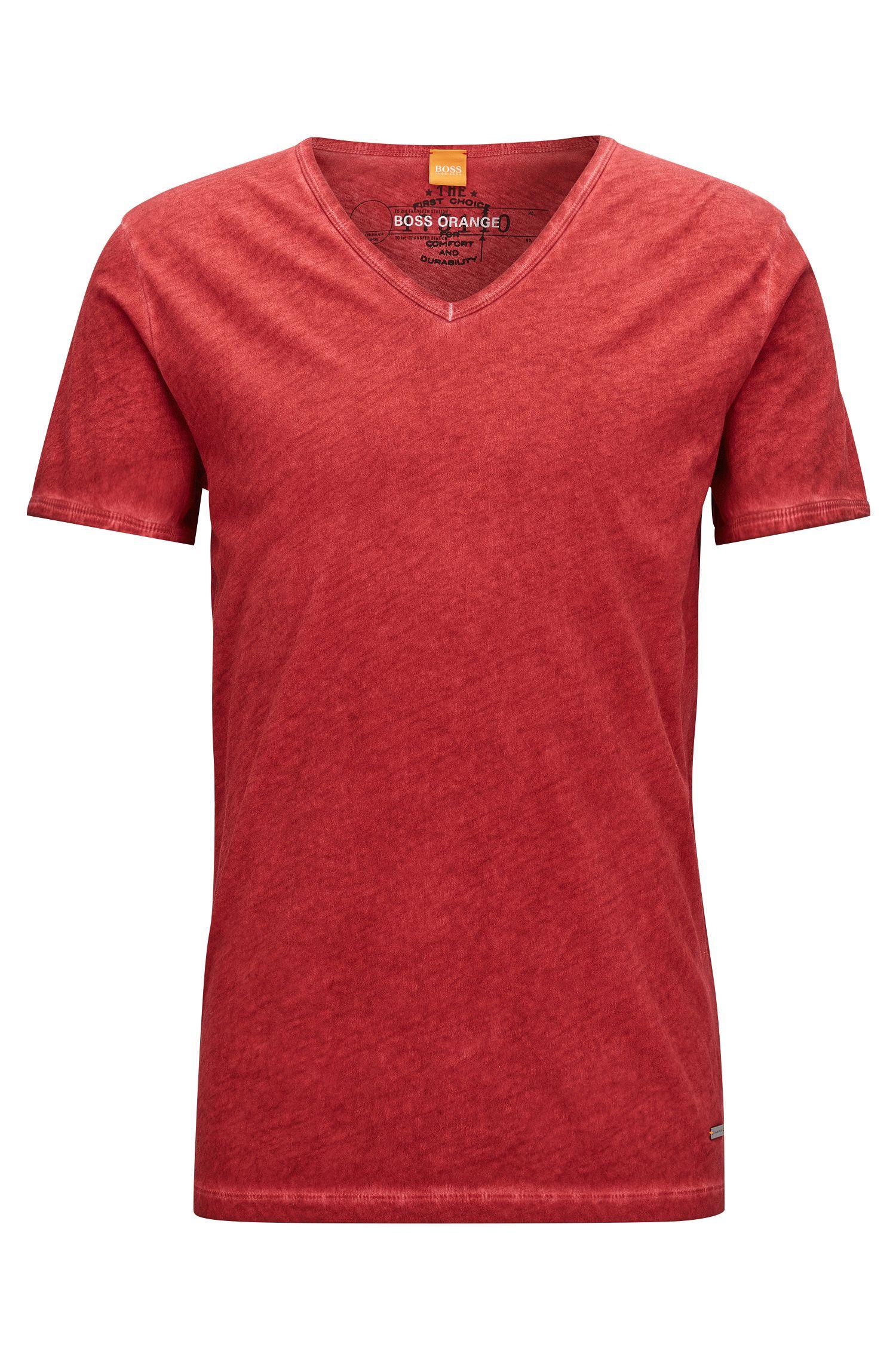Cotton V-Neck T-Shirt | Toulouse