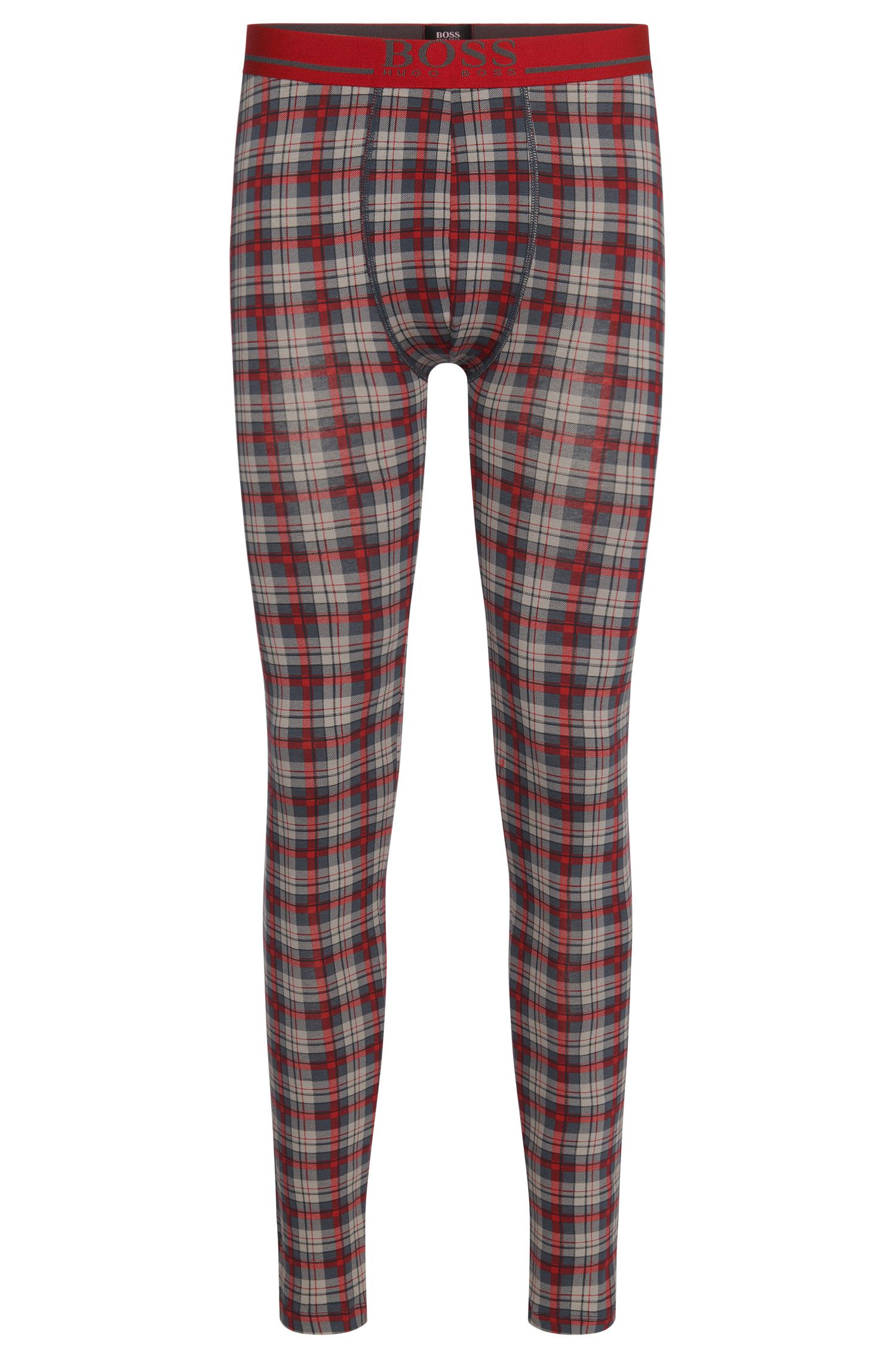 Stretch Cotton Long Johns | Long John Print