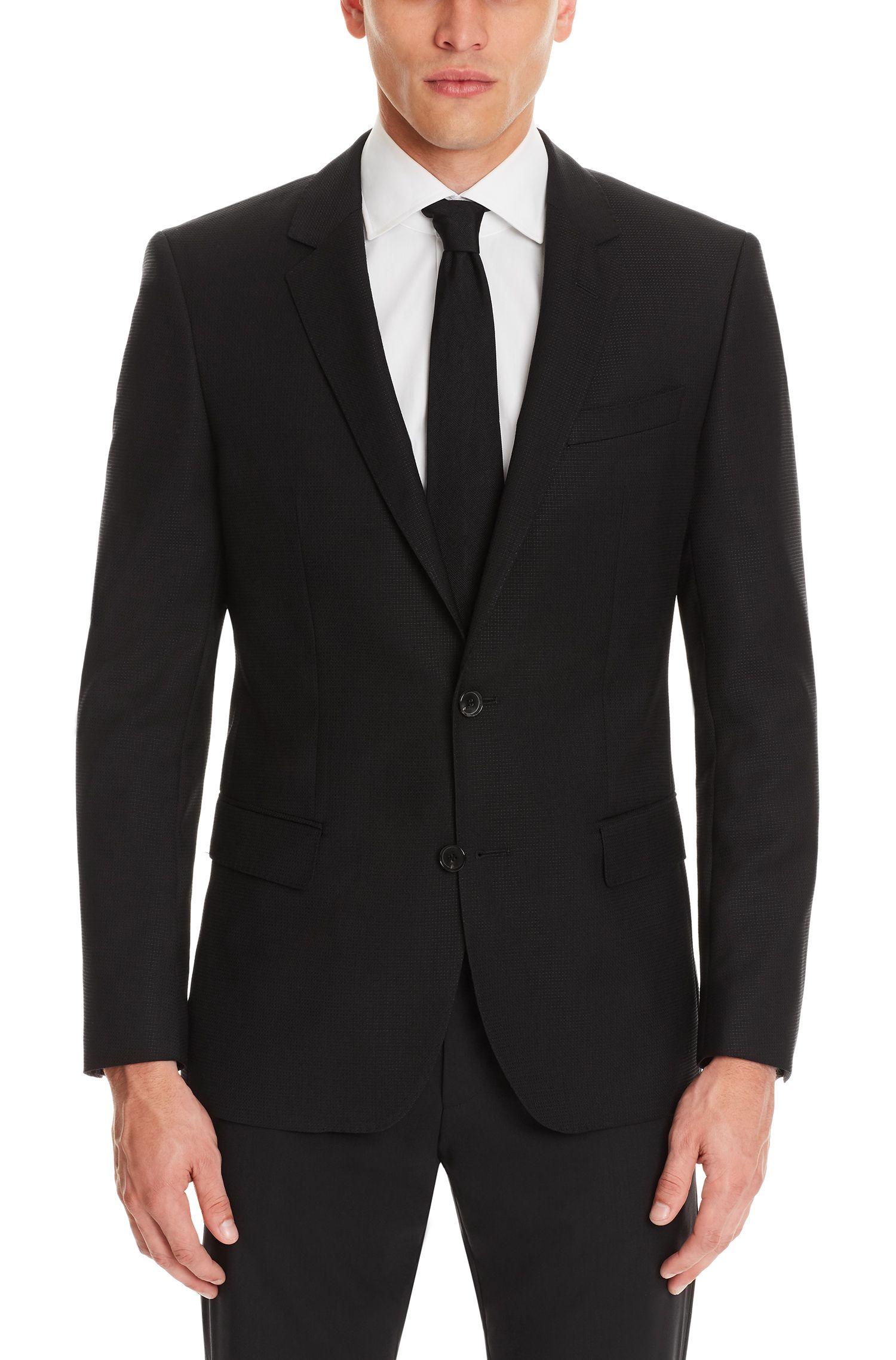 Virgin Wool Sport Coat, Slim Fit | Hutch