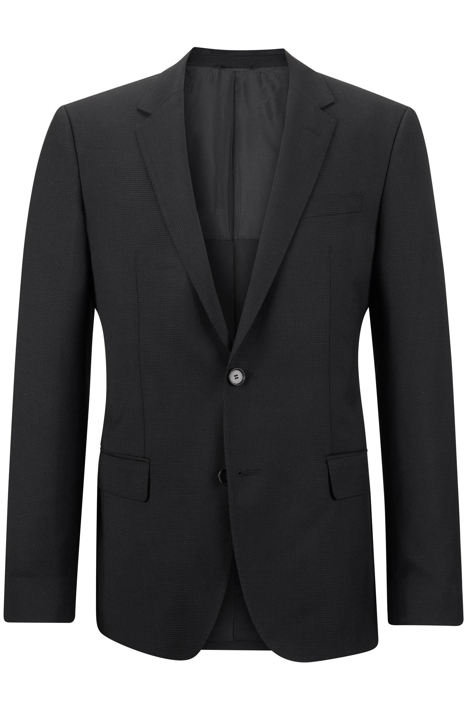 Virgin Wool Sport Coat, Slim Fit | Hutch