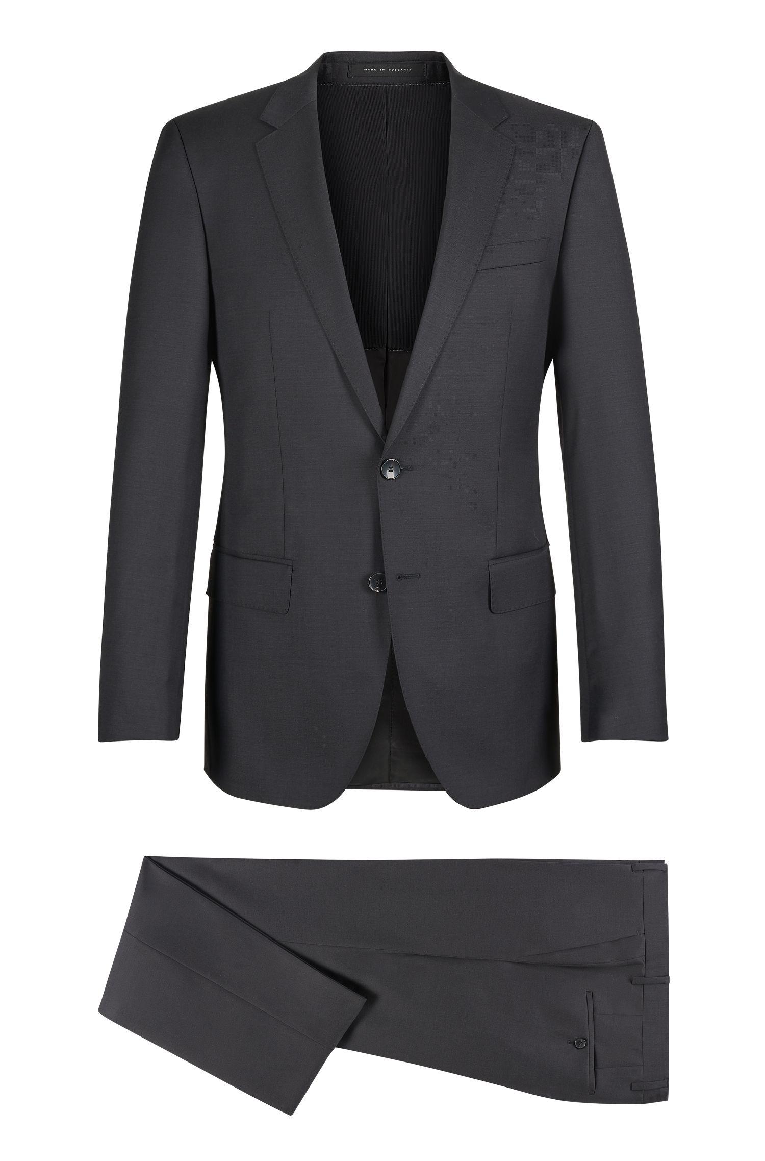 'Huge/Genius'   Slim Fit, Virgin Wool Suit