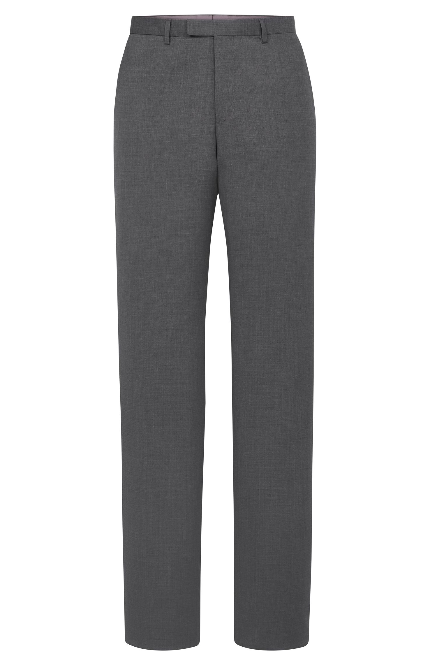 'Sharp'   Regular Fit, Virgin Wool Dress Pants